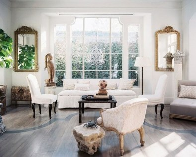 Incredible White Walls Living Room Design Ideas 09