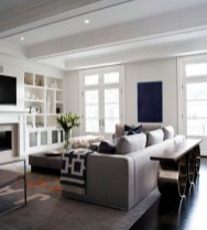 Incredible White Walls Living Room Design Ideas 21