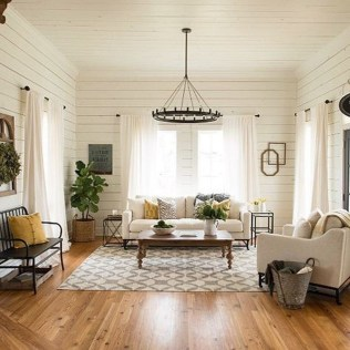 Incredible White Walls Living Room Design Ideas 25