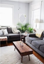 Incredible White Walls Living Room Design Ideas 49