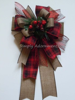 Magnificient Rustic Christmas Decorations And Wreaths Ideas 38