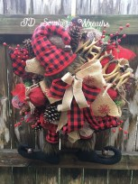 Magnificient Rustic Christmas Decorations And Wreaths Ideas 42