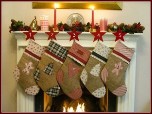 Perfect Christmas Stocking Decoration Ideas 05