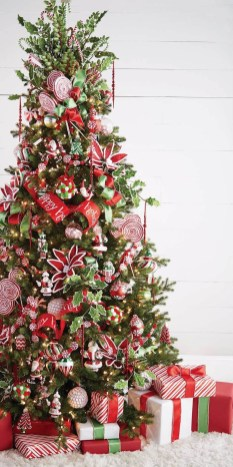 Stylish Decorated Christmas Trees 2018 Ideas 15