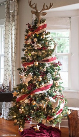 Stylish Decorated Christmas Trees 2018 Ideas 16