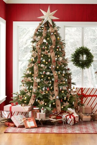Stylish Decorated Christmas Trees 2018 Ideas 18