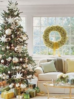 Stylish Decorated Christmas Trees 2018 Ideas 39
