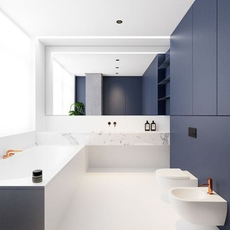 Wonderful Color Combination For Your Bathroom Design Ideas 13