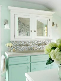 Wonderful Color Combination For Your Bathroom Design Ideas 19