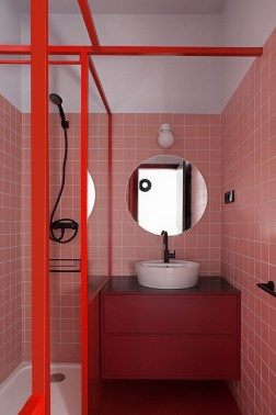 Wonderful Color Combination For Your Bathroom Design Ideas 25