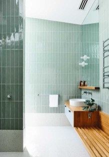 Wonderful Color Combination For Your Bathroom Design Ideas 29