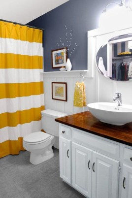 Wonderful Color Combination For Your Bathroom Design Ideas 46