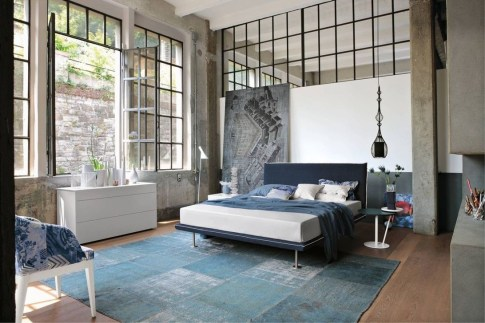 Attractive Industrial Bedroom Design Ideas 29