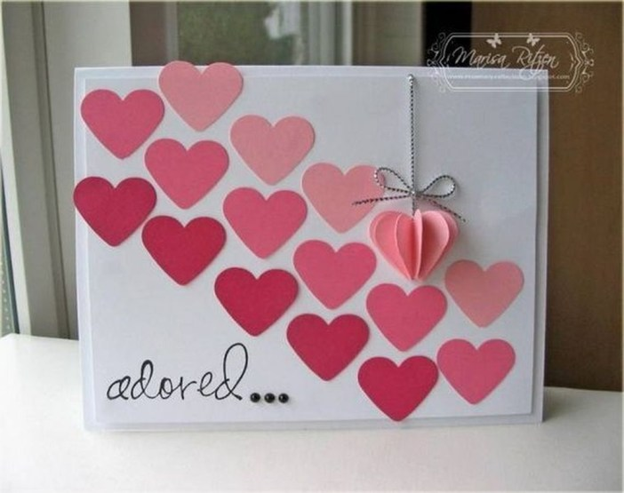 Awesome Diy Cards Design Ideas For Valentine Day 43