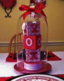 Cute Table Setting Ideas For Valentines Day 05