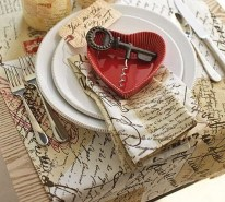 Cute Table Setting Ideas For Valentines Day 15