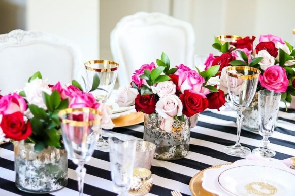 Cute Table Setting Ideas For Valentines Day 22