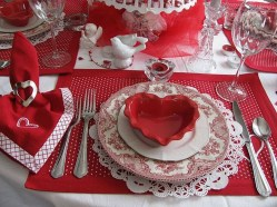 Cute Table Setting Ideas For Valentines Day 50