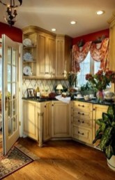 Delightful French Country Kitchen Design Ideas 35