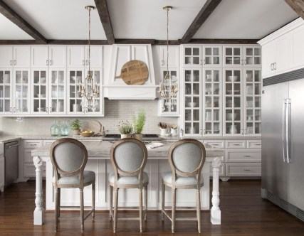 Delightful French Country Kitchen Design Ideas 43