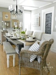 Fantastic Farmhouse Dining Room Design Ideas 20