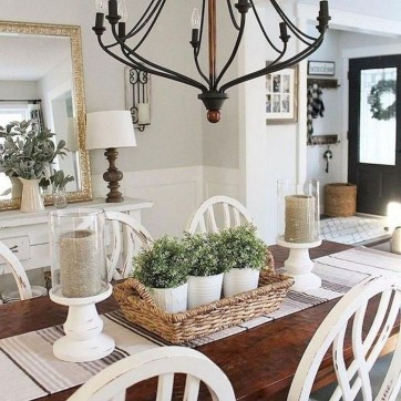 Fantastic Farmhouse Dining Room Design Ideas 32