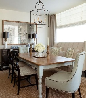 Fantastic Farmhouse Dining Room Design Ideas 43