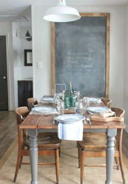 Fantastic Farmhouse Dining Room Design Ideas 45