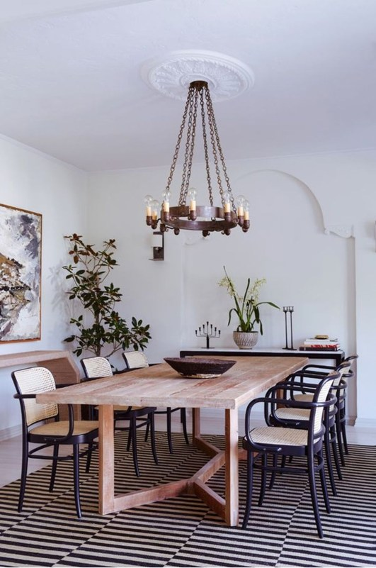 Fantastic Farmhouse Dining Room Design Ideas 48