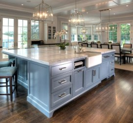 Modern Kitchen Island Decor Ideas 31