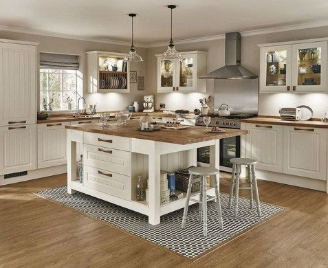 Modern Kitchen Island Decor Ideas 35