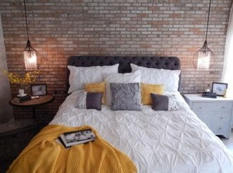 Wonderful Ezposed Brick Walls Bedroom Design Ideas 09