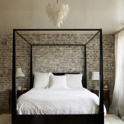 Wonderful Ezposed Brick Walls Bedroom Design Ideas 26