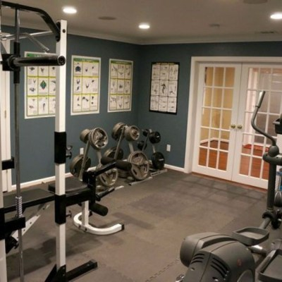 Cheap Home Gym Decorating Ideas For Small Space 03