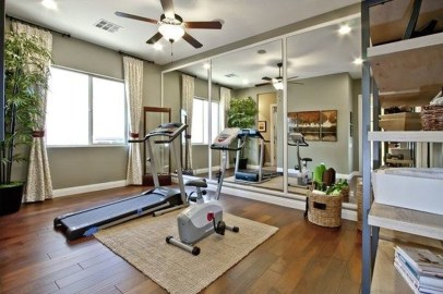 Cheap Home Gym Decorating Ideas For Small Space 18