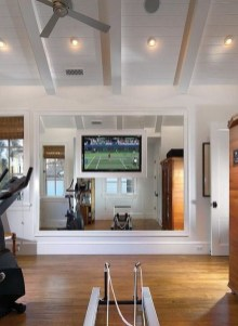 Cheap Home Gym Decorating Ideas For Small Space 20