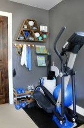 Cheap Home Gym Decorating Ideas For Small Space 23