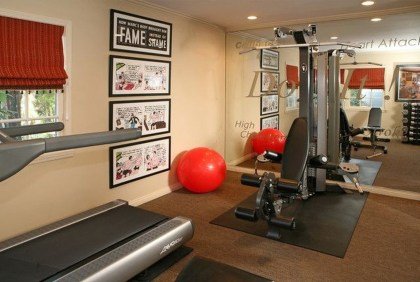 Cheap Home Gym Decorating Ideas For Small Space 24
