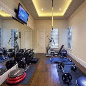 Cheap Home Gym Decorating Ideas For Small Space 31