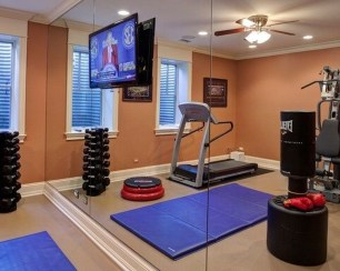 Cheap Home Gym Decorating Ideas For Small Space 47