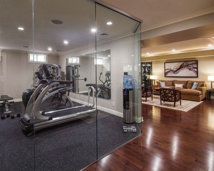 Cheap Home Gym Decorating Ideas For Small Space 48