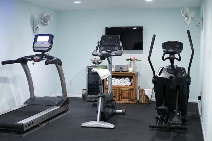Cheap Home Gym Decorating Ideas For Small Space 49