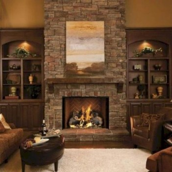 Impressive Fireplace Design Ideas 33