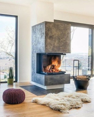 Impressive Fireplace Design Ideas 52