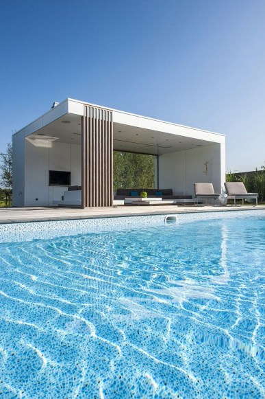 Nice Pool House Decorating Ideas On A Budget 31