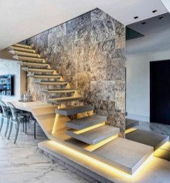 Perfect Living Room Staircase Design Ideas 01