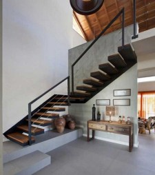 Perfect Living Room Staircase Design Ideas 05