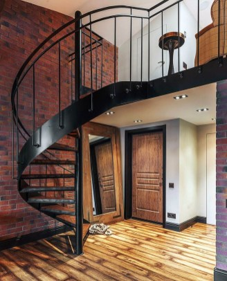 Perfect Living Room Staircase Design Ideas 10
