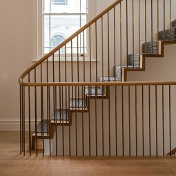 Perfect Living Room Staircase Design Ideas 27