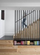 Perfect Living Room Staircase Design Ideas 28